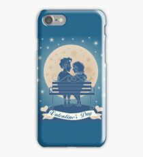 Couple_On_Bench iPhone Case/Skin