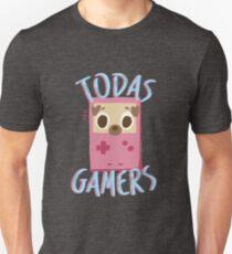 Todas Gamers Merchan Unisex T-Shirt