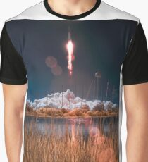 Antares Rocket Launch, 2013 Graphic T-Shirt