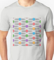 Abstract Colorful Decorative Pattern T-Shirt