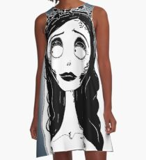 Corpse Bride Emily A-Line Dress