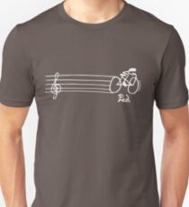 How does a musician get to orchestra? - Dark Slim Fit T-Shirt
