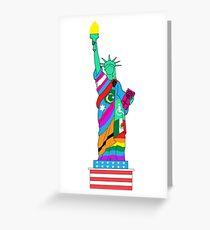 Freiheit für alle Grußkarte