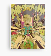 DANNY BROWN Metal Print
