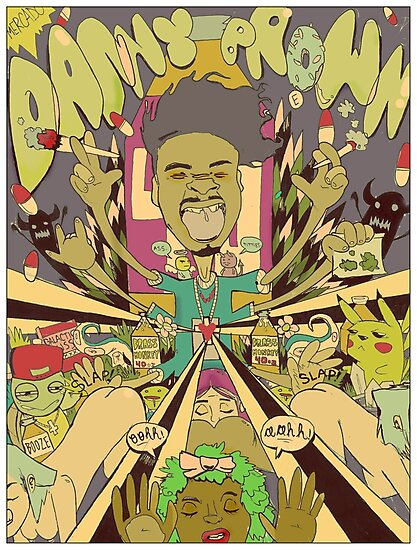 DANNY BROWN by ian mercado