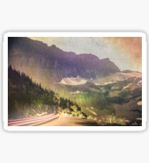 Mountains and Forest - Drive Sticker