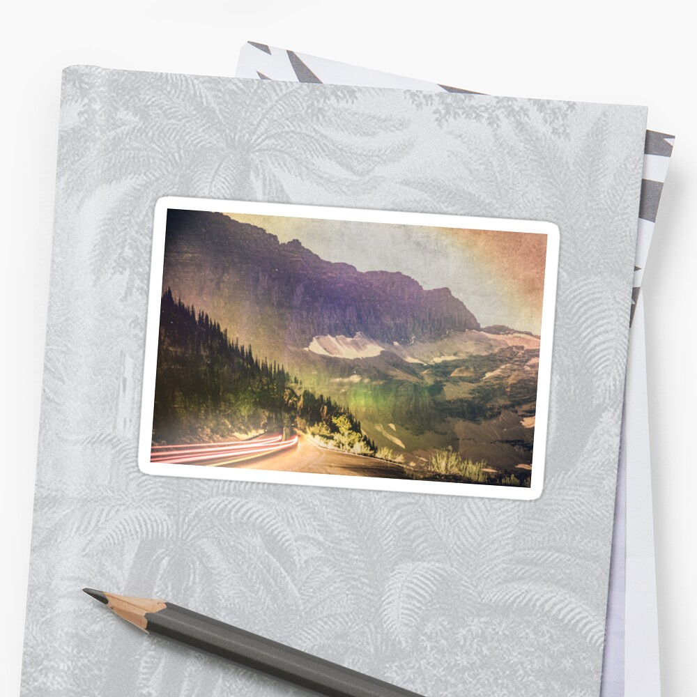 Mountains and Forest - Drive by artcascadia