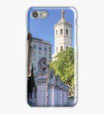 Valladolid Sculptures iPhone Case/Skin