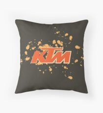 ktm logo Throw Pillow
