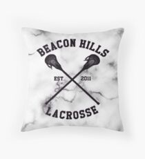 Beacon Hills Lacrosse - Teen Wolf Throw Pillow
