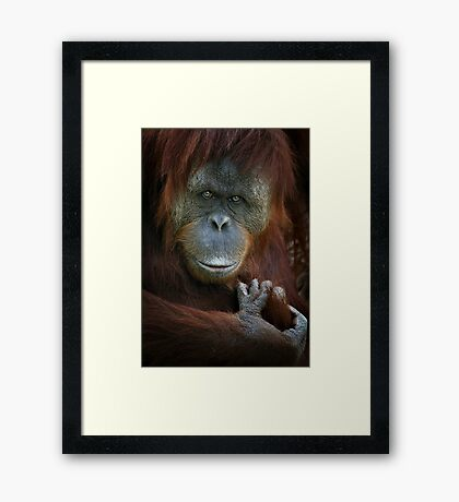 Emotion Framed Print