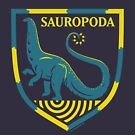 Sauropoda: Dinosaur Coat of Arms by David Orr