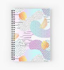 memphis style Spiral Notebook