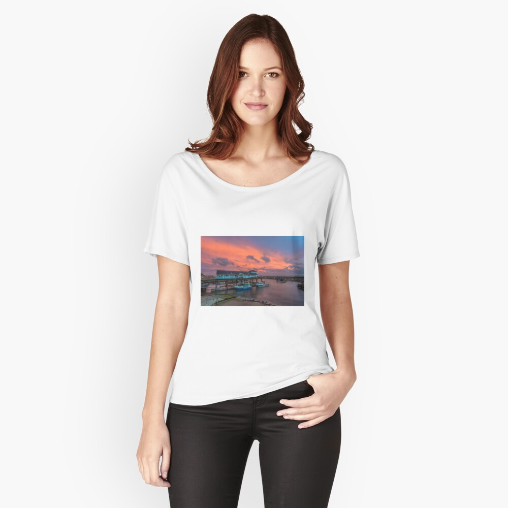 Ventnor Haven Sunset Relaxed Fit T-Shirt