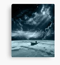Without a Paddle Canvas Print
