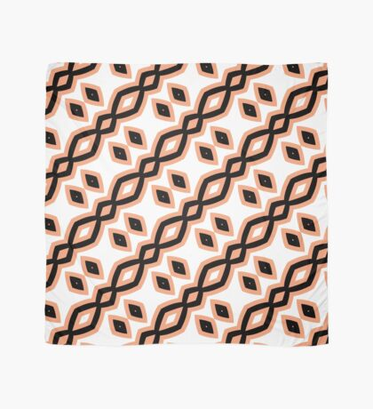 Peach and Black by Julie Everhart Scarf