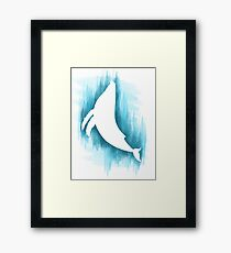Everything whale be alright Framed Print