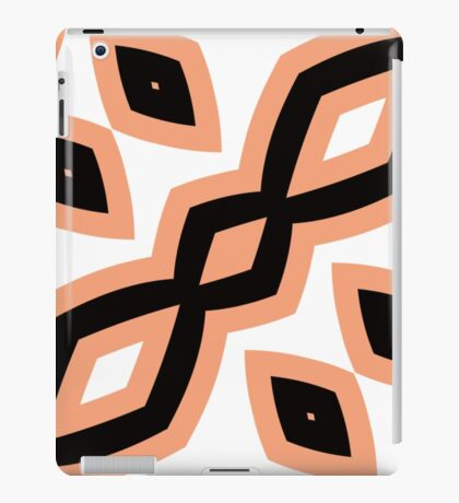 Peach and Black by Julie Everhart iPad Case/Skin