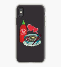 Pho & Sriracha Love iPhone Case