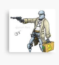 Daddy was a bank robber Metal Print