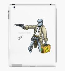 Daddy was a bank robber iPad Case/Skin