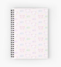 Buns and kits Spiral Notebook
