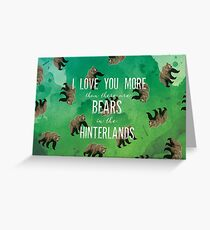 Hinterlands Valentine Greeting Card
