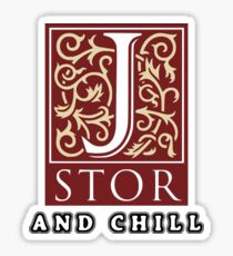 jstor and chill Sticker