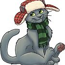 Cat in a Hat by Mithmeoi