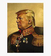 President Donald J Trump  Photographic Print