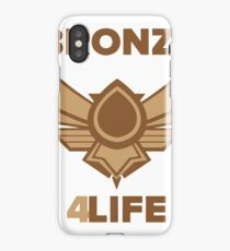 Bronze for life iPhone Case