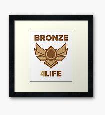 Bronze for life Framed Print
