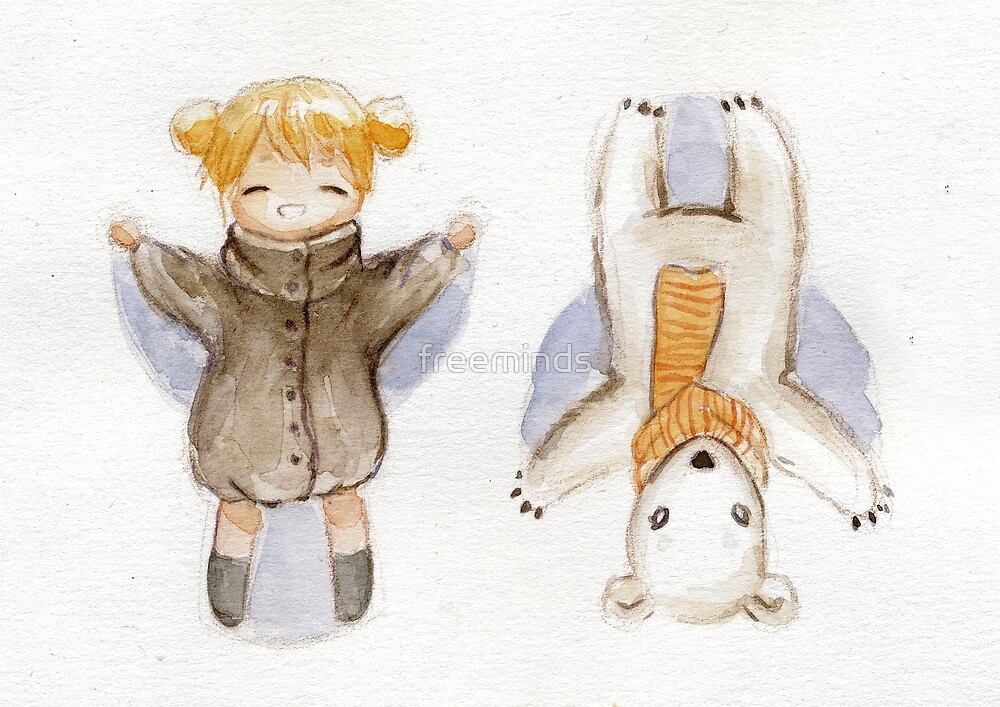 Snow Angels by freeminds