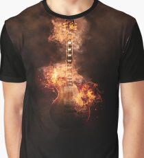Guitare en feu Graphic T-Shirt