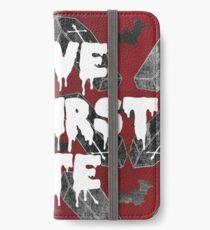 LOVE AT FIRST BITE iPhone Wallet/Case/Skin