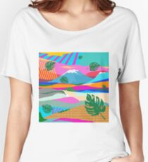 beautiful colors scenery Women's Relaxed Fit T-Shirt