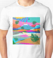 beautiful colors scenery Unisex T-Shirt