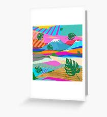 beautiful colors scenery Greeting Card