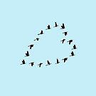 Heart Birds by ManlyDesign