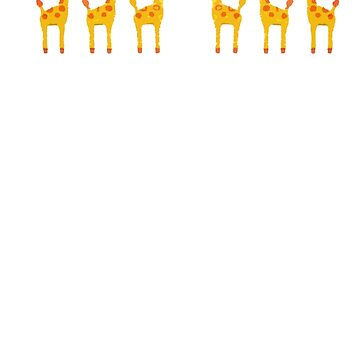 Giraffes love too by KayVee