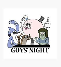 Guys' Night Photographic Print