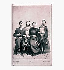 JOSEPH WINDSOR FAMILY, CALLOWAY COUNTY, KENTUCKY Photographic Print