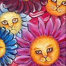 Garden cats by melaniedann