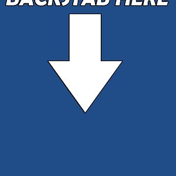 Backstab here -> by brillion