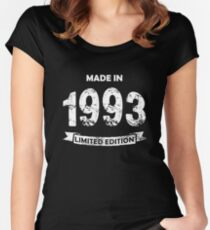 Made in 1993, Limited Edition Women's Fitted Scoop T-Shirt
