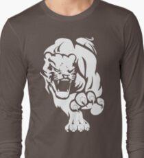 Amazing wild big cat Long Sleeve T-Shirt