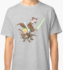 Calvin and Hobbes Star Wars Pals Classic T-Shirt