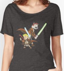 Calvin and Hobbes Star Wars Pals Women's Relaxed Fit T-Shirt