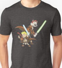 Calvin and Hobbes Star Wars Pals T-Shirt