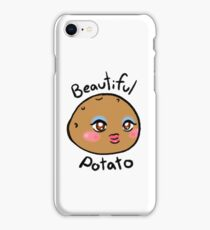 beautiful potato iPhone Case/Skin